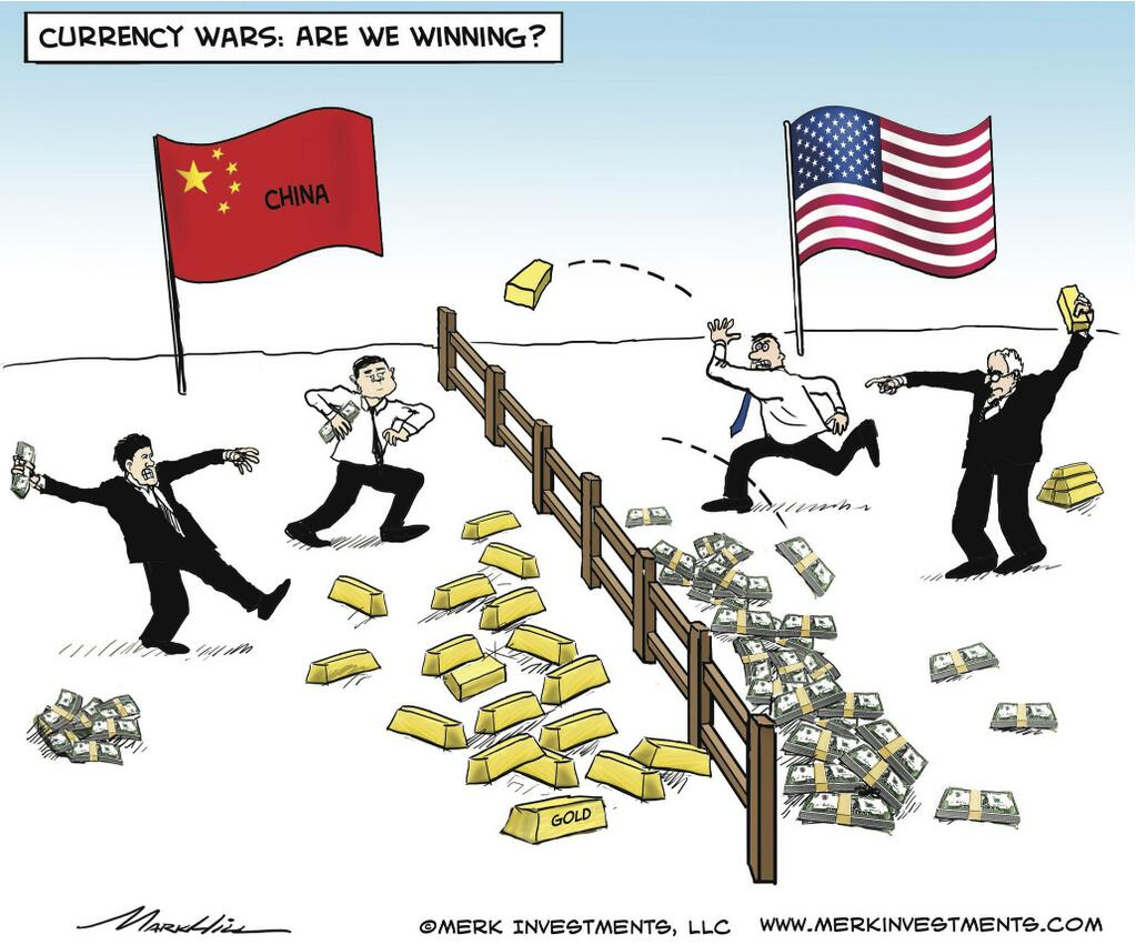 Currency War China vs US