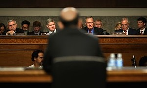 Bernanke Testifies At Senate Hearing On Semiannual Monetary Policy Report